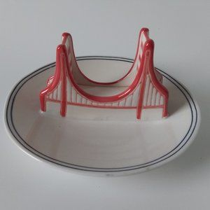 Molly Hatch Golden Gate Bridge Trinket  Dish